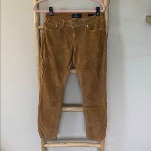 Lucky Brand corduroy pants.